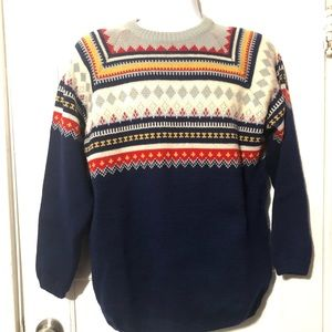 VTG 1960s Charles Wolf Nordic Wool Sweater Norway